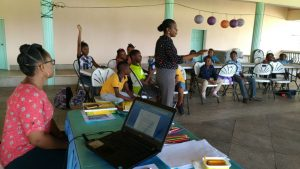 Children at Etiquette Workshop