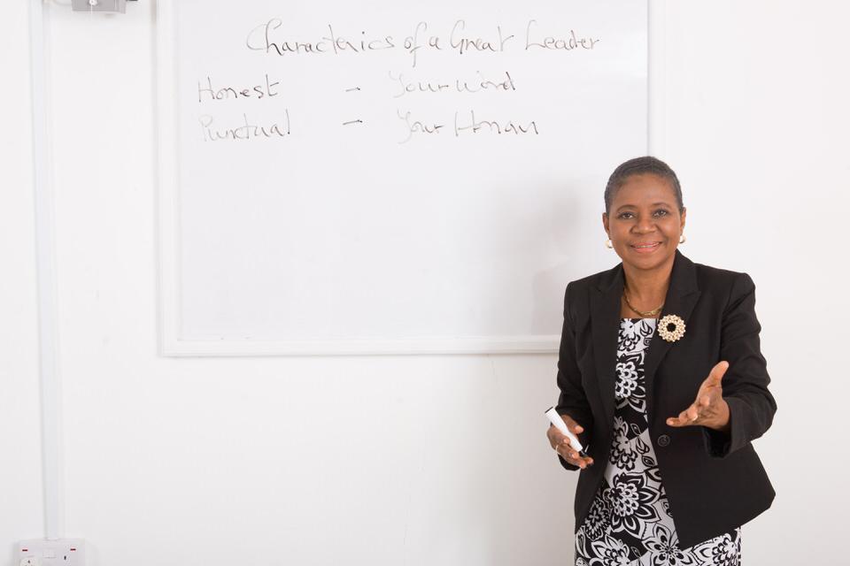 Presenting on Leadership