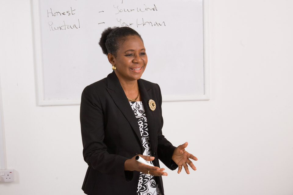 Presenting on communication skills