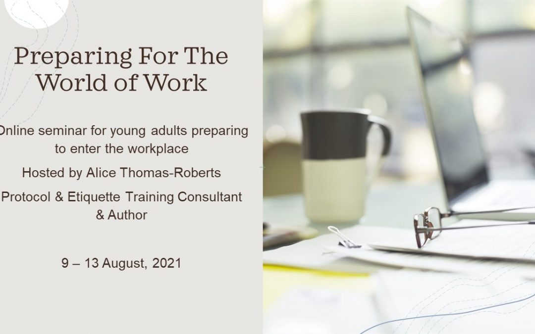 Online Course – Preparing for the World of Work